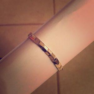 AE Silver Spiral Arrow Bracelet